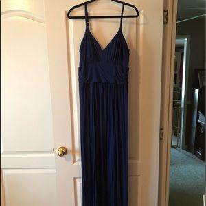 Victoria Secrets Navy Blue Maxi Dress